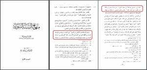Minhaj as-Sunnah Vergleich Sanad